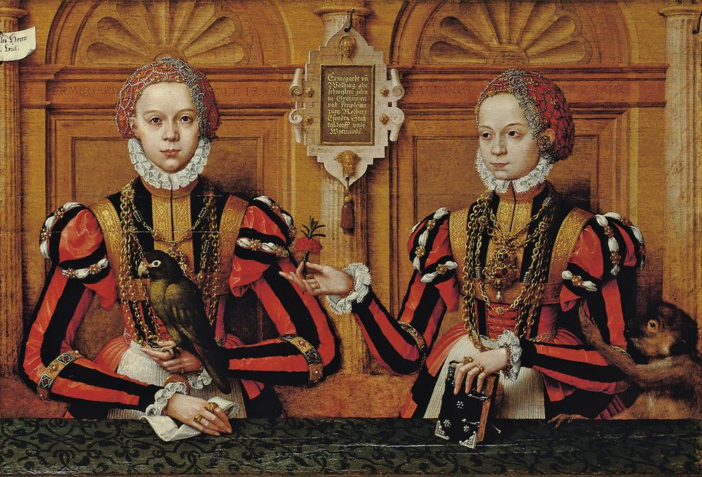 """Hermann tom Ring: """"Rietberg Girls"""" (1564) © LWL-Museum für Kunst und Kultur, Münster/Rudolf Wakonigg"""