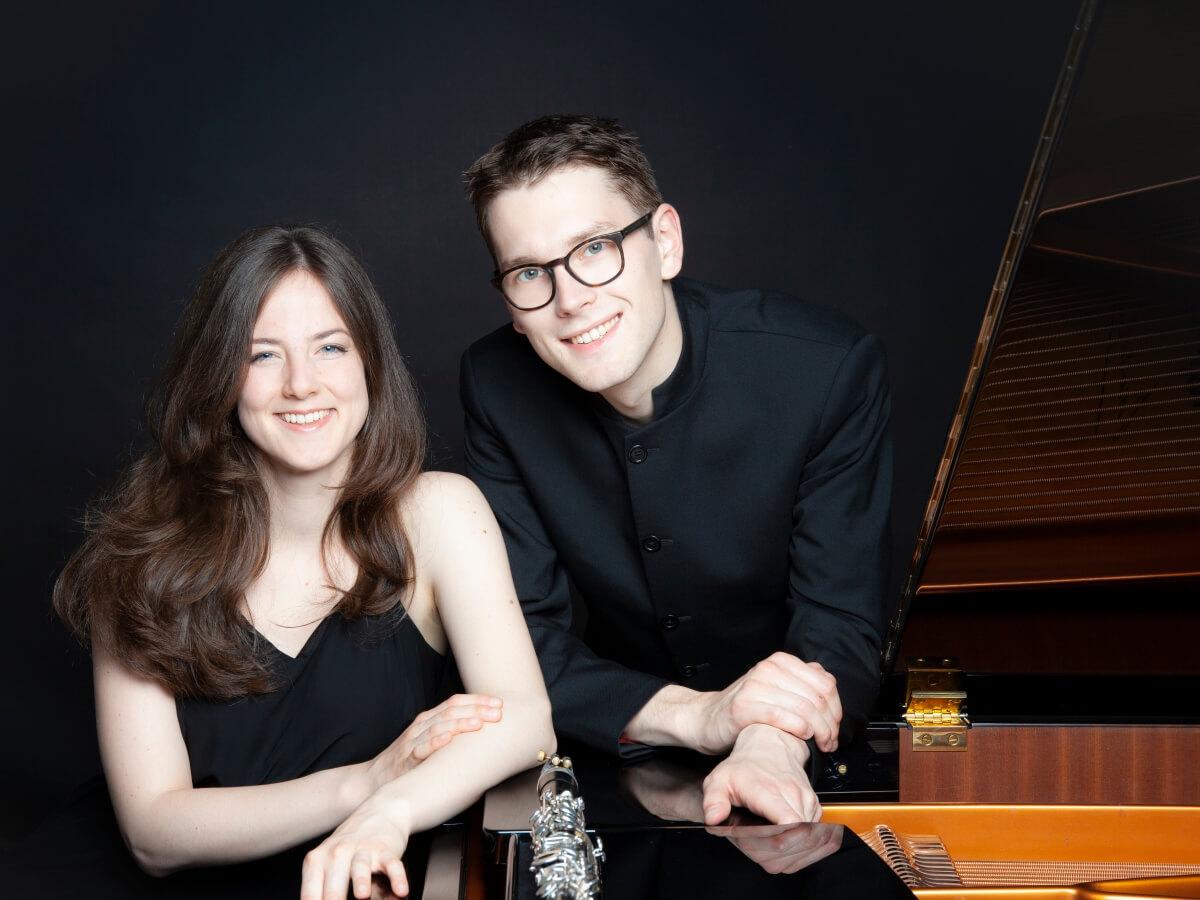 MUSIK IM RÖMERmuseum 03.03.2021, Julia Puls (Klarinette), Viktor Soos (Klavier)