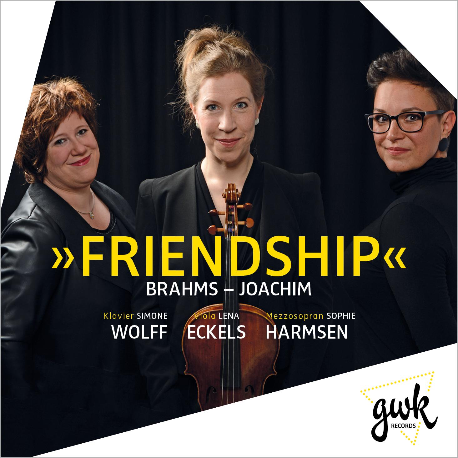 L. Eckels (Viola), S. Wolff (Klavier) und S. Harmsen (Mezzosopran)